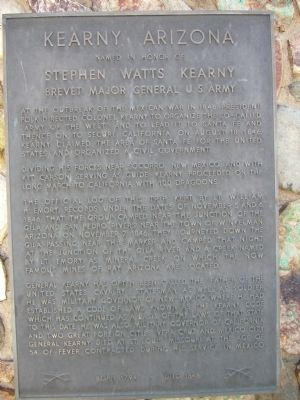 Kearny, Arizona Marker image. Click for full size.