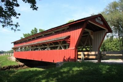 Spain Creek Covered Bridge image. Click for full size.