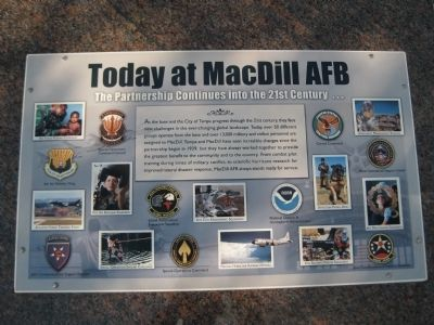 Today at MacDill AFB Marker image. Click for full size.