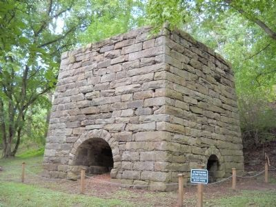 Moratock Iron Furnace image. Click for full size.