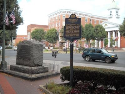 Confederate Conference Marker image. Click for full size.