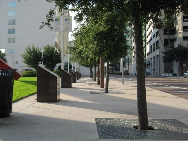 Historical Markers at MacDill Park image. Click for full size.