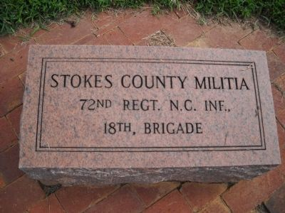 Stokes County Company Marker image. Click for full size.
