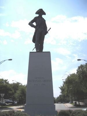 General Nathanael Greene Monument image. Click for full size.