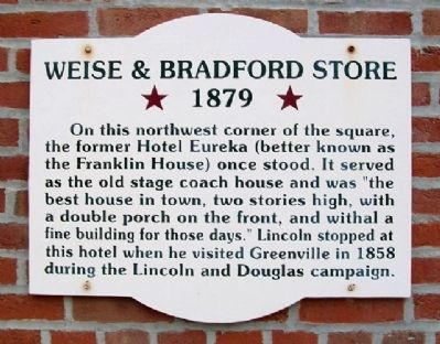 Weise & Bradford Store Marker image. Click for full size.