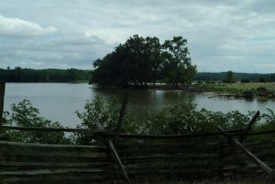 The Land That Was Once Popes Creek Plantation Overlooking the Potomac River image. Click for full size.