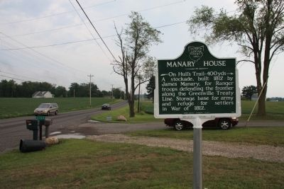 Manary House Marker image. Click for full size.