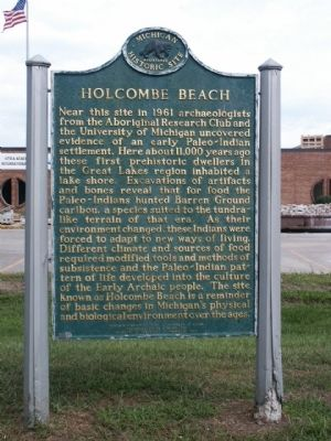 Holcombe Beach Marker image. Click for full size.
