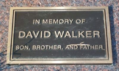 David Walker Memorial at Immigrant Park image. Click for full size.
