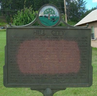 Hill City Marker image. Click for full size.