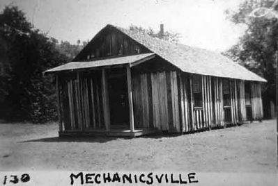 Mechanicsville School image. Click for full size.