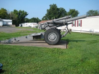 155 MM Howitzer at Whitehouse American Legion Post 284 image. Click for full size.