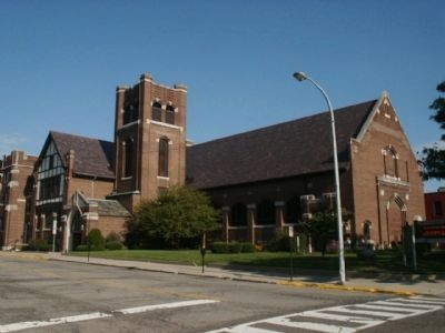 Royal Oak Methodist Episcopal Church image. Click for full size.