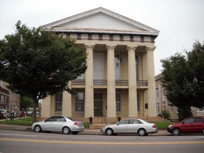 Old Rowan County Courthouse image. Click for full size.