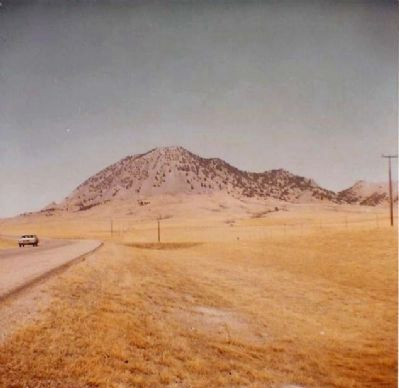 Bear Butte , Sacred Sioux mountain as seen from State Road 79 image. Click for full size.