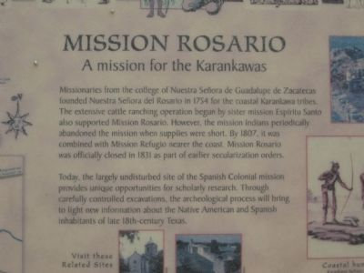 Mission Rosario Marker image. Click for full size.