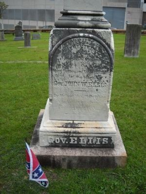 Grave of Gov. John Ellis image. Click for full size.