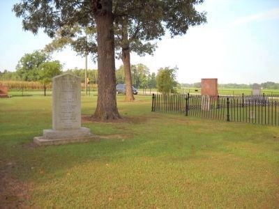 Marker in Chicora Cemetery image. Click for full size.