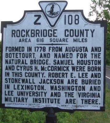 Rockbridge County Side image. Click for full size.