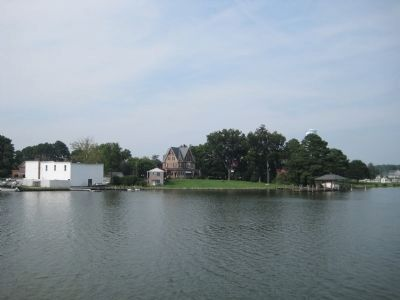 The Gables, from the water image. Click for full size.