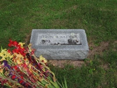 Myron H. Natwick Grave image. Click for full size.