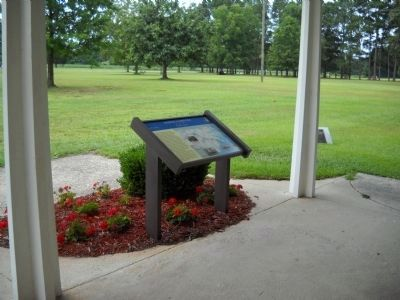 Marker on Bentonville Battlefield image. Click for full size.