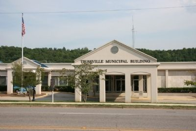 Trussville City Hall image. Click for full size.