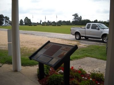 Marker on the Bentonville Battlefield image, Touch for more information
