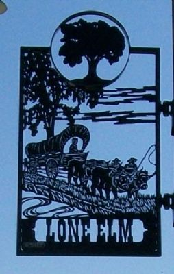 Lone Elm Park Sign image. Click for full size.