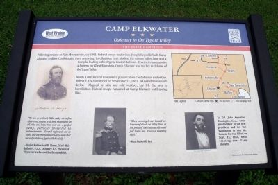 Camp Elkwater CWT Marker image. Click for full size.