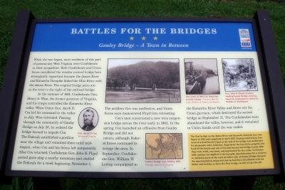 Battles For The Bridges CWT Marker image. Click for full size.