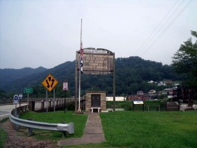 Town of Gauley Bridge image. Click for full size.