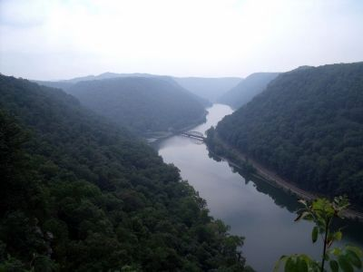 New River (looking upriver) image. Click for full size.