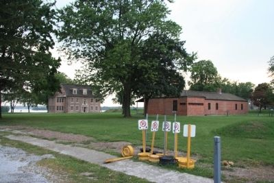 Fort Amherstburg (Fort Malden) image. Click for full size.
