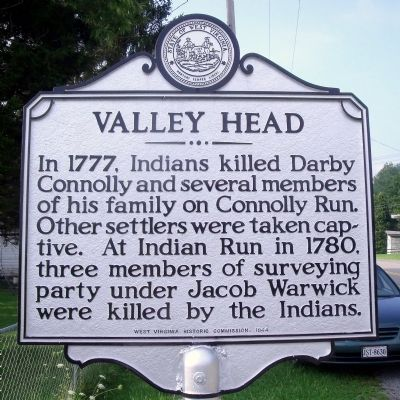 Valley Head Marker image. Click for full size.