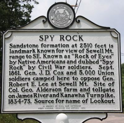 Spy Rock Marker image. Click for full size.