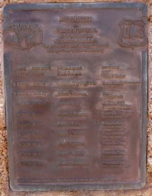 Mogollon Rim Country Firefighters Memorial Marker image. Click for full size.