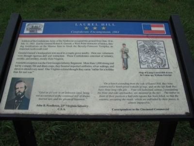 Laurel Hill Marker image. Click for full size.