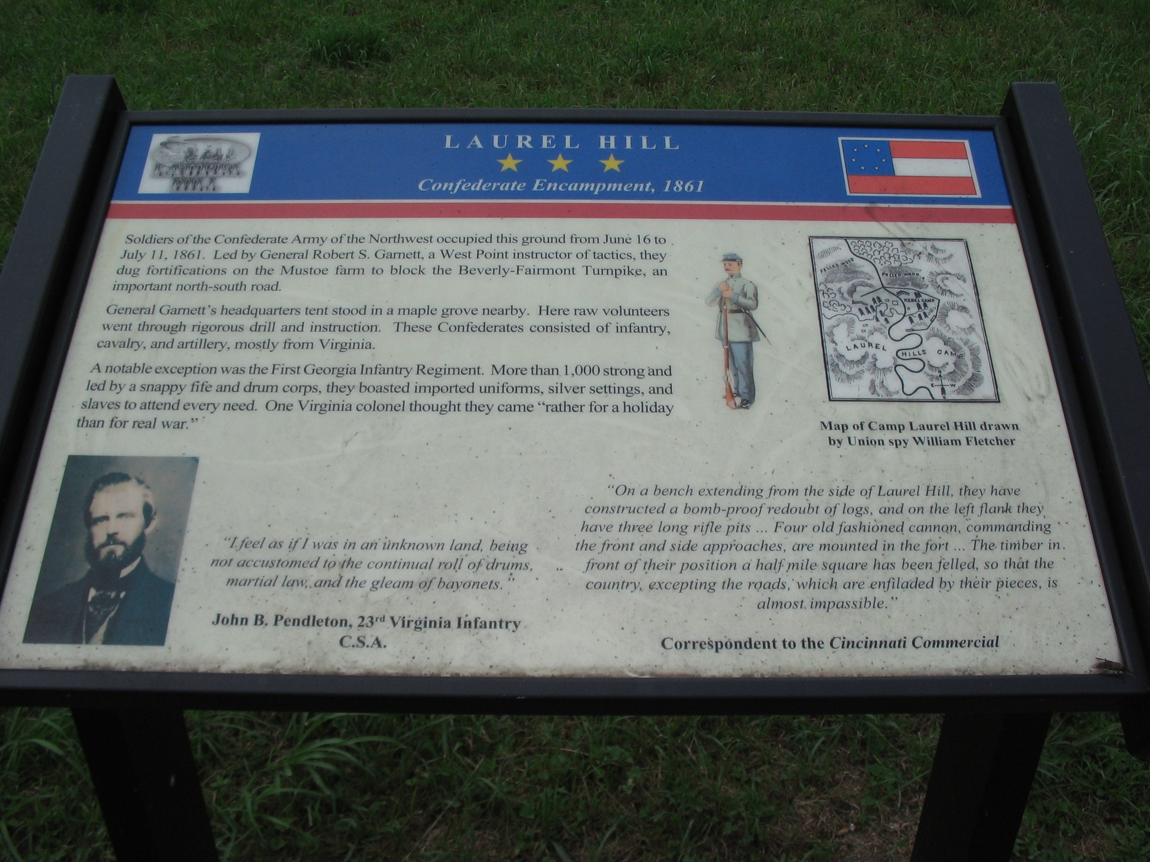 Laurel Hill Marker