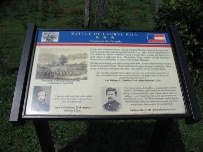Battle of Laurel Hill Marker image. Click for full size.
