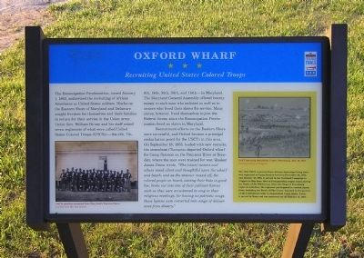 Oxford Wharf Marker image. Click for full size.