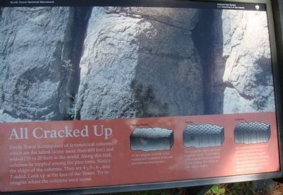 Related Marker on Tower Trail at Devils Tower image. Click for full size.
