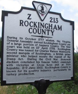 Rockingham County Side image. Click for full size.