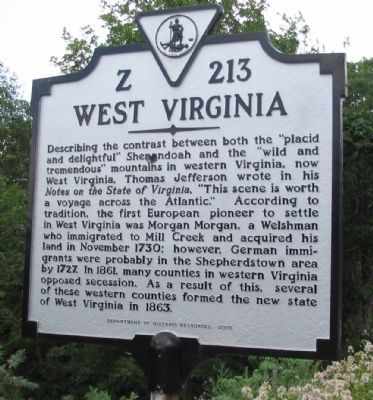 West Virginia Side image. Click for full size.