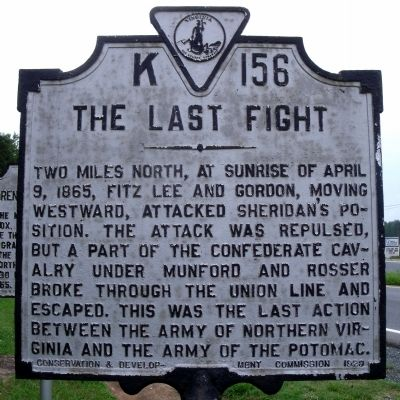 The Last Fight Marker image. Click for full size.