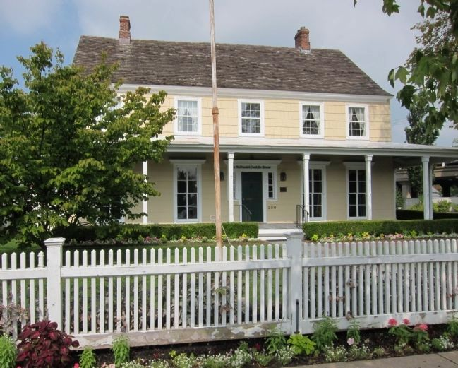 Conklin House (1803) - front view image. Click for full size.