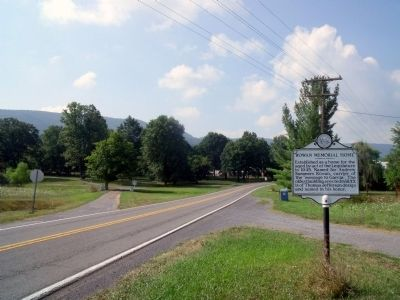 Kanawha Trail WV Rt 311 (facing south) image. Click for full size.