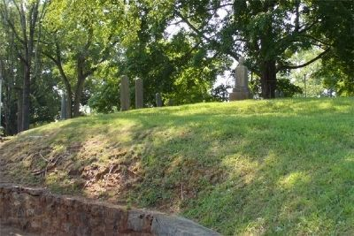 New Providence Church Cemetery Wall image. Click for full size.