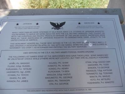Servicemen's Honor Roll Marker image. Click for full size.