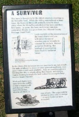 A Survivor Marker image. Click for full size.